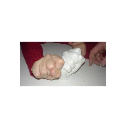 Gjut en hand i alginat