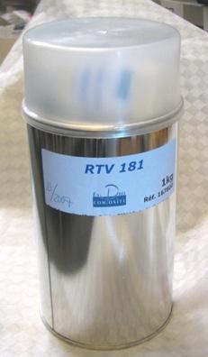 RTV Silikon 181 inkl härdare – Formsilikon / Gjutsilikon